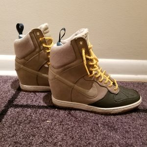 Nike Wedge High Tops-winter edition